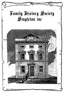 singleton pattern history singleton family history society website