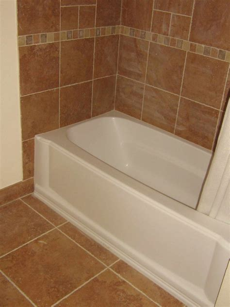 installing bathroom tile around tub junkart me outstanding bathtub with bubbles photo
