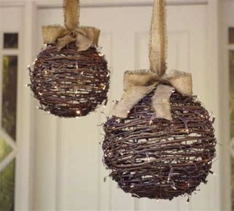 Outdoor Hanging Decorations by 95 Amazing Outdoor Decorations Digsdigs