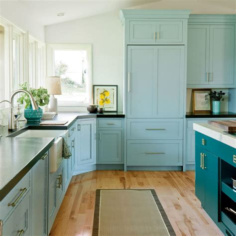 painting kitchen cabinets blue painting kitchen cabinets 11 must know tips