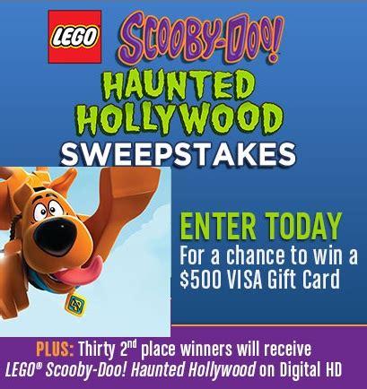 Lego Sweepstakes - lego scooby doo haunted hollywood sweepstakes sweeps maniac