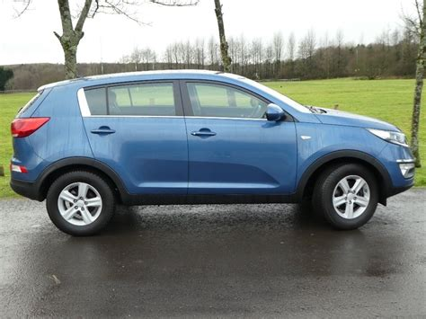 kia sportage sale used blue kia sportage for sale gwent