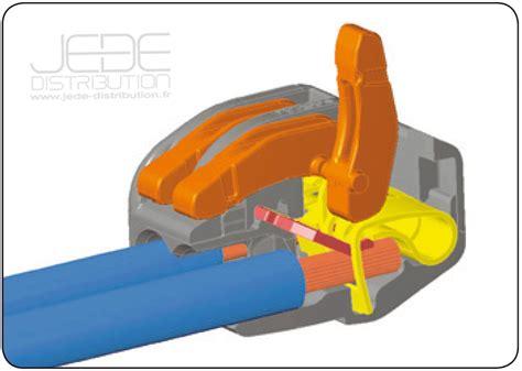 wago fil souple 2612 borne wago 224 leviers pour 2 conducteurs jede distribution