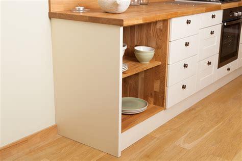 kitchen cabinet end panels solid oak end panels