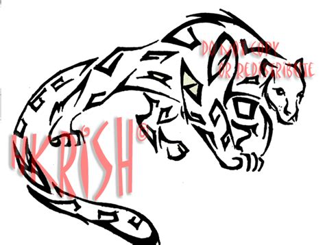 tribal jaguar tattoo designs amazing tribal jaguar tattoo design