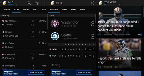 news apps for android the best sports news apps for android android central