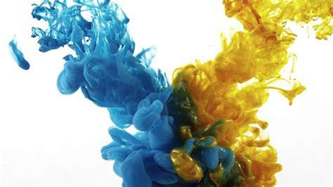 colors inc color ink splash in water