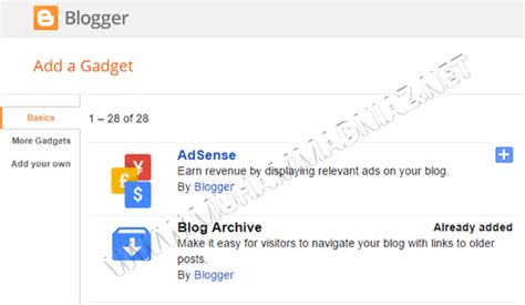 blogger tutorial in urdu how to add gadgets in blogger in urdu hindi
