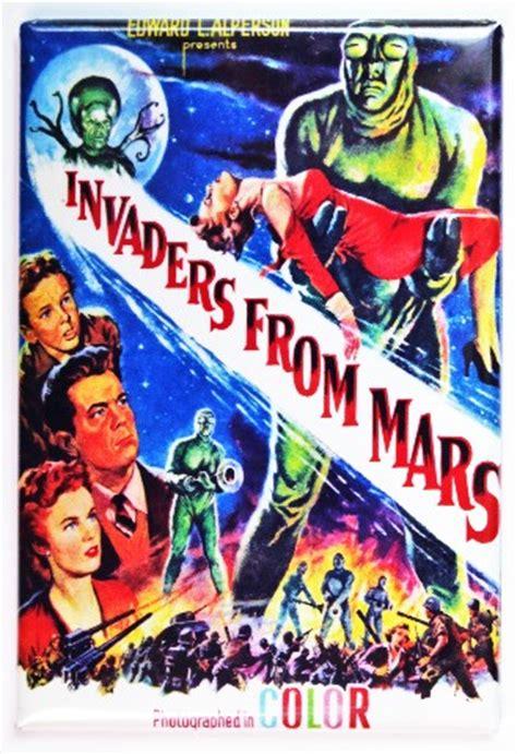 Nesa Shopp Tetrise Syari Najwa invaders from mars poster fridge magnet sci fi 1950s