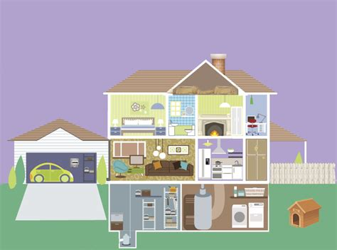 interactive house asbestos awareness