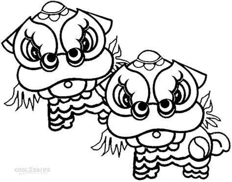 Preschool Coloring Pages Chinese New Year | printable chinese new year coloring pages for kids