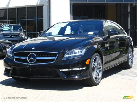 obsidian black color 2012 obsidian black metallic mercedes benz cls 63 amg