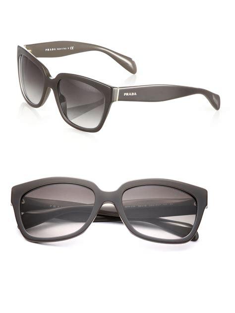 prada square rimless sunglasses www tapdance org