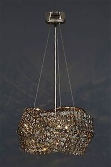 next venetian 5 light smoked ceiling lighting chandelier