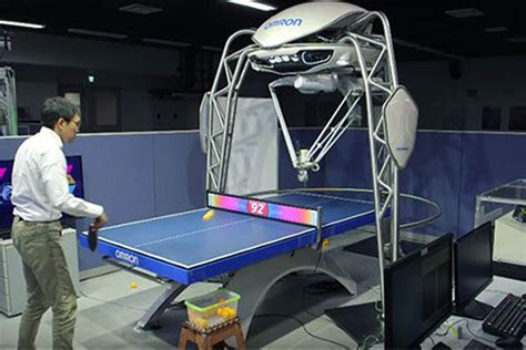 this ping pong robot makes forrest gump look lazy