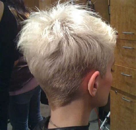 back view of short spikey hair cuts for women short hair back hot hair pinterest short hair