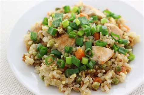 how to make chicken fried rice with pictures wikihow
