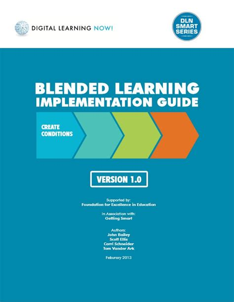 blended learning flipped classrooms a comprehensive guide teaching learning in the digital age books blended learning implementation guide blearning ebooks