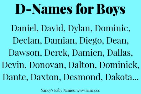 names that start with d boy names that start with d www pixshark images galleries with a bite