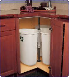 storage containers for lazy susan cabinet trash recycling cans in corner cabinet spin like lazy