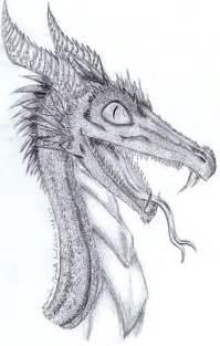 Dragon pencil sketch by zairieene on deviantart