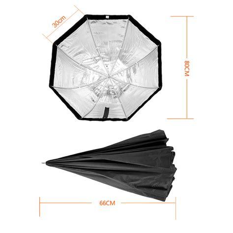 payung octagon softbox reflektor untuk flash speedlight