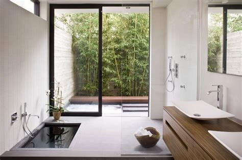 zen bathroom design zen bathroom sunken bath tub interior design ideas