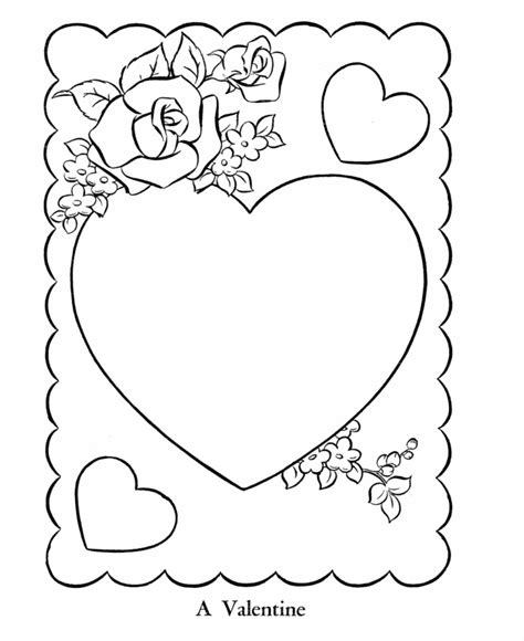 Valentine Card Coloring Pages Gt Gt Disney Coloring Pages Coloring Pages Of Cards