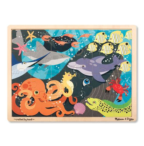 Puzzle Sea the sea wooden jigsaw puzzle 24 pieces