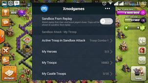 Cara Xmod Game Coc | cara cheat hack clash of clans dengan xmod cara android