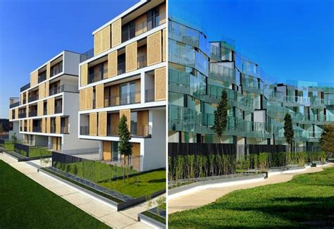housing complex design milan s milanofiori apartment complex is filled with green gardens inside and out