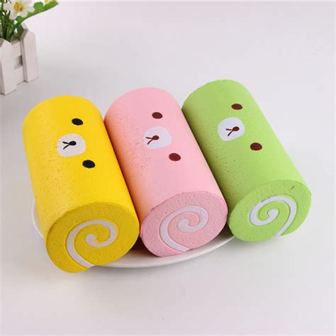 Squishy Roll Cake Rillakuma buy wholesale rilakkuma squeeze from china