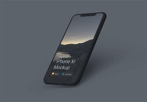 iphone xs iphone xs max iphone xr mockups  behance