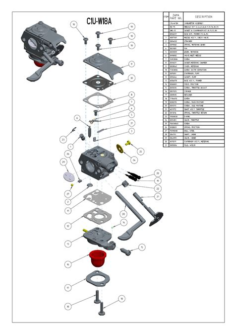 zama c1u carburetor kit wiring diagrams wiring diagram