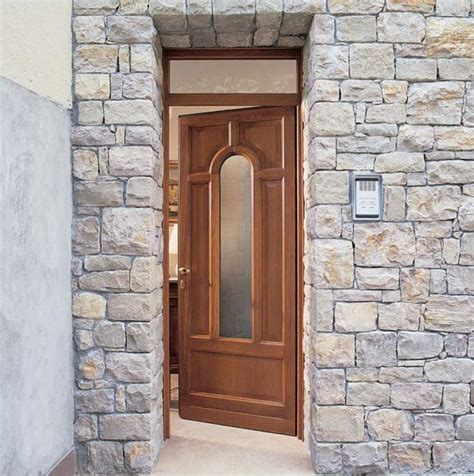 wooden glazed doors exterior glazed entry door by carminati serramenti