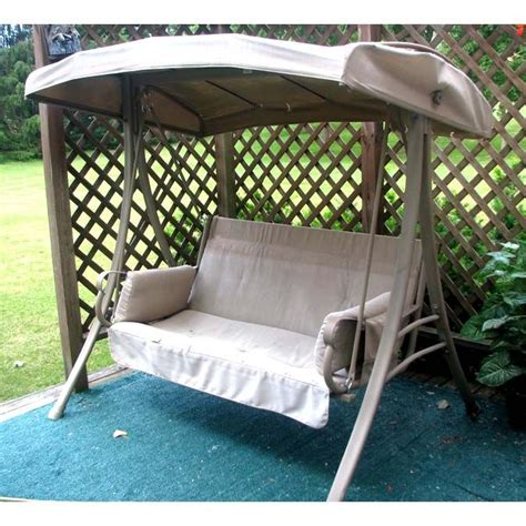 charm  person swing replacement canopy  garden