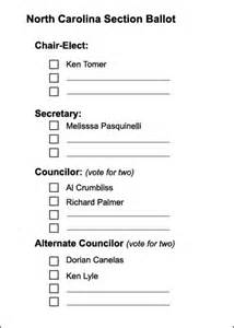 student council ballot template tarhelium volume 40 issue 2