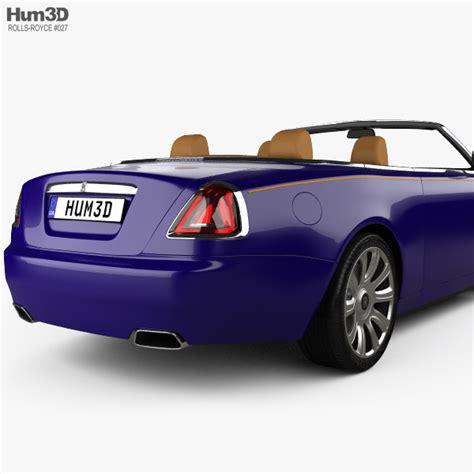 rolls royce interior 2017 rolls royce with hq interior 2017 3d model hum3d