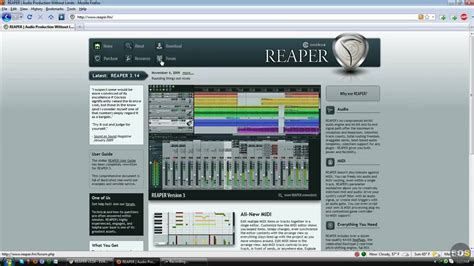 youtube tutorial reaper reaper tutorial 1 overview youtube