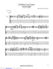 chitlins  carne guitar pro tab  stevie ray vaughan  musicnoteslibcom