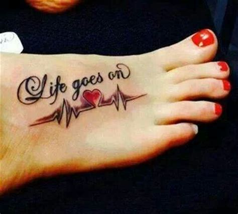 life goes on tattoo designs goes on on chest www pixshark images