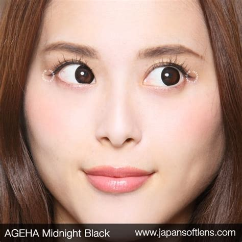 Softlens Gel Ageha Soft Lens Gel Ageha Dia 15mm Water 55 Korea Terl softlens black ageha midnight black japan softlens
