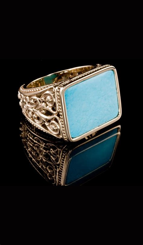 turquoise jewelry mens rings jewelry ideas