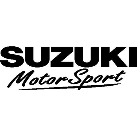 Sticker Suzuki Sticker Et Autocollant Suzuki Motorsport