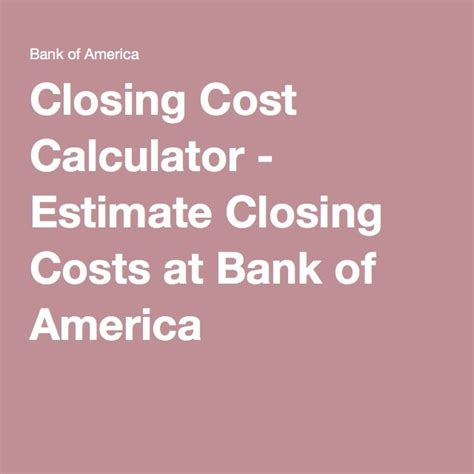 house closing cost calculator best 25 closing costs ideas only on pinterest coldwell