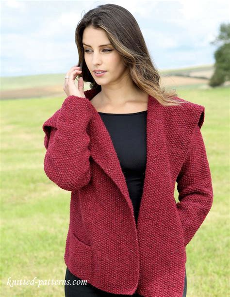 knitting jacket s jacket knitting pattern free