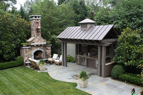 outdoor kitchen and patio outdoor kitchen and fireplace traditional patio