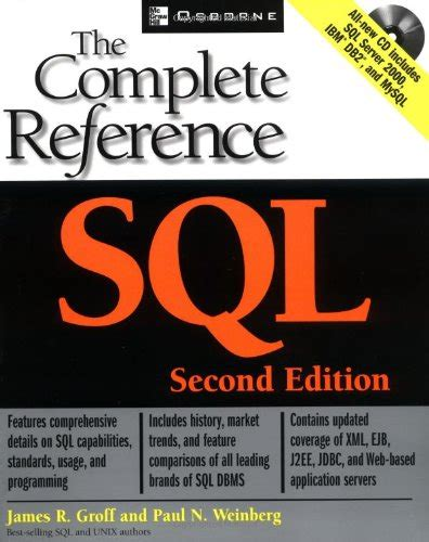 tiling complete 2nd edition books sql the complete reference second edition by groff