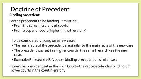 Persuasive Precedent by Common Studies 3c Ppt