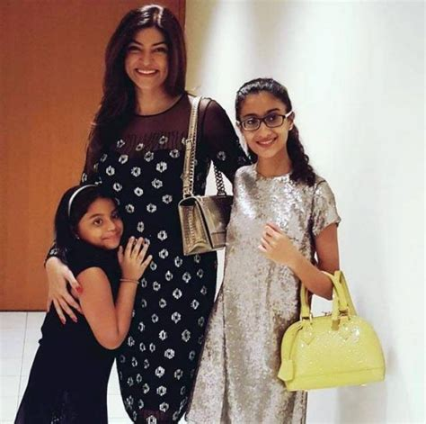 sushmita sen renee sen these adorable photos of sushmita sen with daughters renee